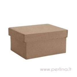 Kartoninė stačiakampio f. dėžutė, 8x12x5 cm