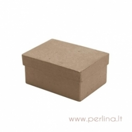 Kartoninė stačiakampio f. dėžutė, 6x9x4 cm