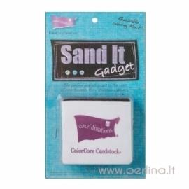 """Popieriaus sendinimo įrankis """"Sand It Gadget Tool"""""""