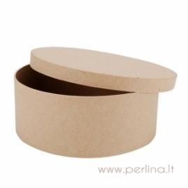 Kartoninė apvali dėžutė, 18x7,5 cm