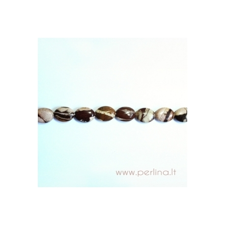 Zebrinis jaspis, 15x20 mm