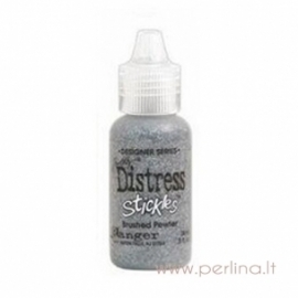 "Blizgūs klijai ""Brushed Pewter"", 18 ml"