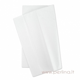 Tissue šilko popierius, baltas, 10 vnt, 50,8x50,8 cm