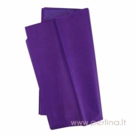 Tissue šilko popierius, violetinis, 10 vnt, 50,8x50,8 cm