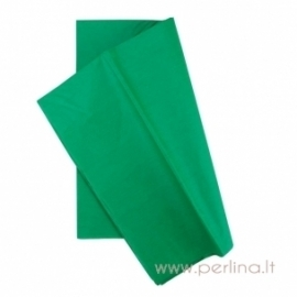 Tissue šilko popierius, žalias, 10 vnt, 50,8x50,8 cm