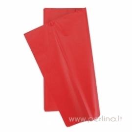 Tissue šilko popierius, raudonas, 10 vnt, 50,8x50,8 cm