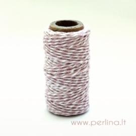 """Virvelė """"Spots & Stripes - Light Pink"""", 1 m."""