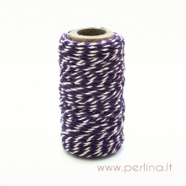 "Virvelė ""Bakers Twine - Gorjuss - Purple"", 1 m."