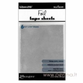 "Lipnūs folijos lapai ""Foil tape sheets"", 14x11 cm, 6 vnt."