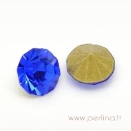 Stiklo akutė, mėlyna, SS16, 1 vnt