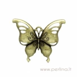 "Bronzos sp. pakabukas ""Butterfly"", 5,7x6,6 cm"