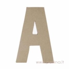 Kartoninė raidė A, 20x14,5x2,5 cm