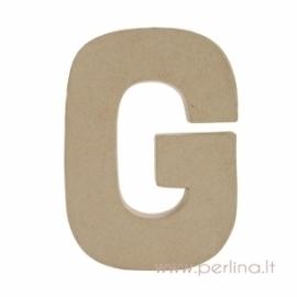 Kartoninė raidė G, 20x14,5x2,5 cm