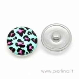 "NOOSA spaudė ""Leopardas"", 18 mm"