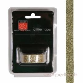 Lipni blizgučių juostelė, aukso sp., 2,7 m