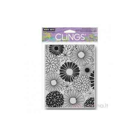"""Antspaudas """"Everything Flowers"""", 11,5x14,5 cm"""