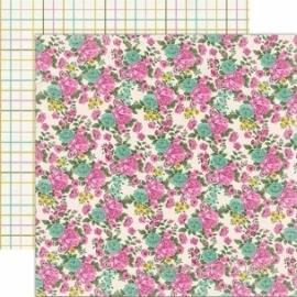 """Popierius """"Spring Showers"""", 30,5x30,5 cm"""