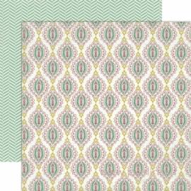 """Popierius """"Medallion"""", 30,5x30,5 cm"""