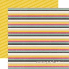 "Popierius ""Stripes"", 30,5x30,5 cm"