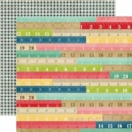 """Popierius """"Rulers"""", 30,5x30,5 cm"""
