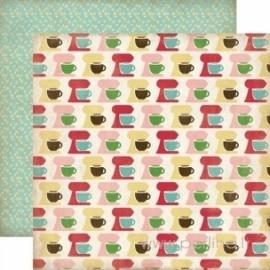 "Popierius ""Mixing Bowls"", 30,5x30,5 cm"