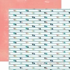 """Popierius """"Triangles"""", 30,5x30,5 cm"""