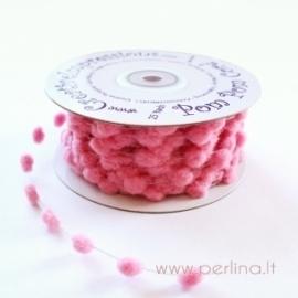 Pom Poms virvelė, rožinė, 50 cm