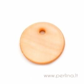 """Kriauklės pakabukas """"Orange"""", 13 mm"""