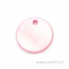 """Kriauklės pakabukas """"Pink"""", 13 mm"""