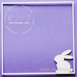 "Chipboard ""Frame with rabbit"", 1 pc"