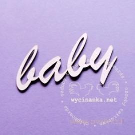 """Kartoninė detalė """"Baby"""", 1 vnt."""