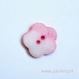 Kriauklės saga, rožinė, 18 mm