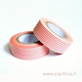 Lipni popierinė juostelė, 1,5 cm, 10 m