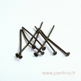 Žalvario sp. smeigtukas, 24 mm, 10 vnt