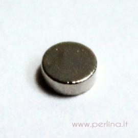 Magnetas, 3x1 mm, 1 vnt