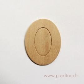 Medinis skaičius, nulis, 6,8x5,2 cm