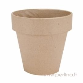 Kartoninis vazonas, 12,5x12,5 cm