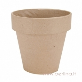 Paper-Mache Flower Pot, 12,5x12,5 cm
