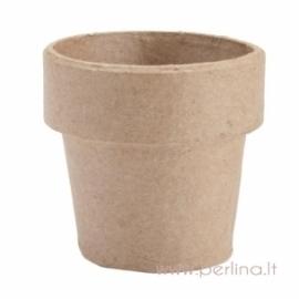 Kartoninis vazonas, 7,5x7,5 cm