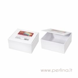 Kartoninė mokyklinė dėžutė, 12,1x11,43x5,71 cm