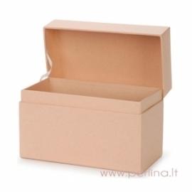 Kartoninė receptų dėžutė, 17,1x9,5x11,4 cm