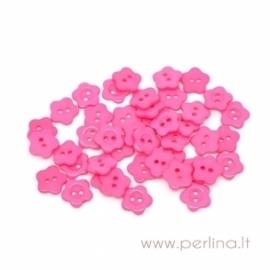 Akrilinė saga, rožinė, 14 mm