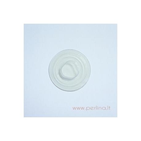 Vakuminis plastikinis CD laikiklis, skaidrus