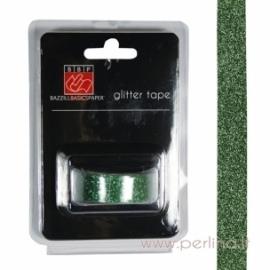 Lipni blizgučių juostelė, žalia, 2,7 m