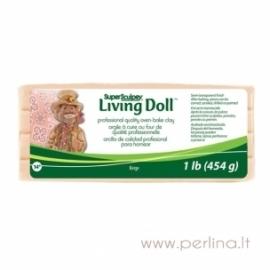 "Modelinas ""Living Doll"", rusvai gelsva sp., 454g."