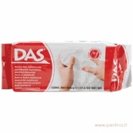 """Modelinas """"Das Air Dry Clay"""", baltos sp., 500g."""