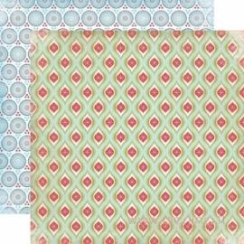 "Popierius ""Winter Wonderland"", 30,5x30,5 cm"