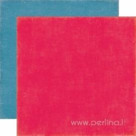 """Popierius """"Red Blue"""", 30,5x30,5 cm"""