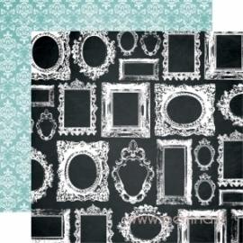 """Popierius """"Memorabilia Frames"""", 30,5x30,5 cm"""