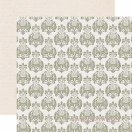 """Popierius """"Urban Market Damask"""", 30,5x30,5 cm"""
